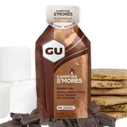 圖片 GU Energy Gel 棉花糖夾心巧克力 Campfire S'Mores