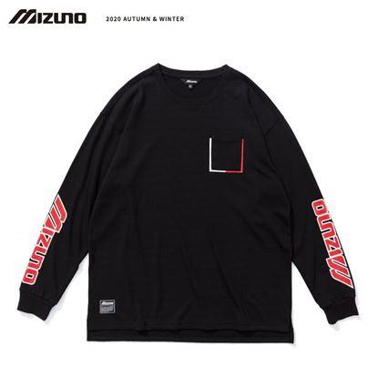 圖片 【 美津濃MIZUNO】男款長袖T恤(黑)