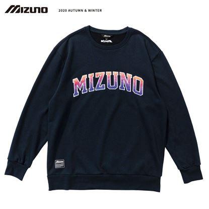 圖片 【 美津濃MIZUNO】 男款長袖T恤 (深丈青)