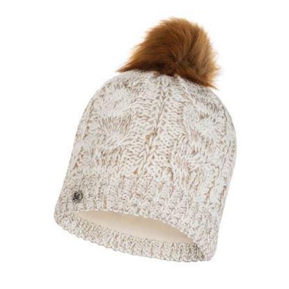 圖片 DARLA-針織保暖毛球帽 牛奶白