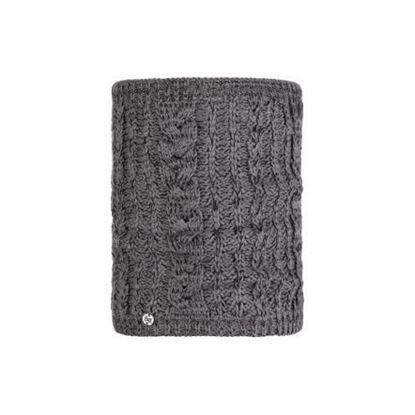 圖片 DARLA-針織保暖領巾 知性灰