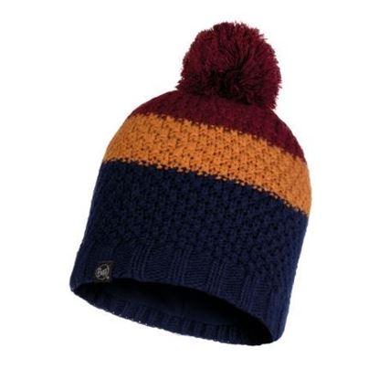 圖片 【BUFF】JAV -針織保暖毛球帽 午夜藍