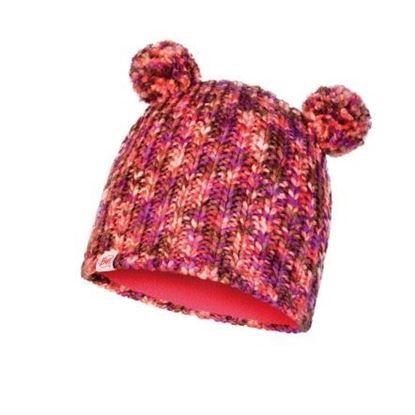 圖片 【BUFF】LERA-兒童針織保暖造型帽 茶花粉