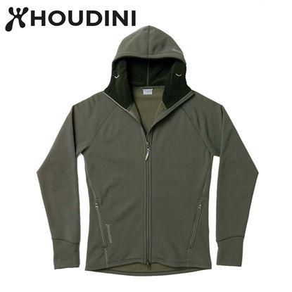 圖片 瑞典【Houdini】M`s Power Houdini 男款Power Stretch® Pro™保暖外套 柳樹綠