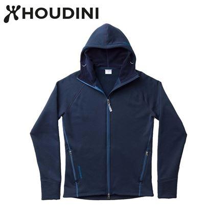 圖片 瑞典【Houdini】M`s Power Houdini 男款Power Stretch® Pro™保暖外套 藍色幻想