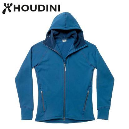 圖片 瑞典【Houdini】M`s Power Houdini 男款Power Stretch® Pro™保暖外套 民俗藍