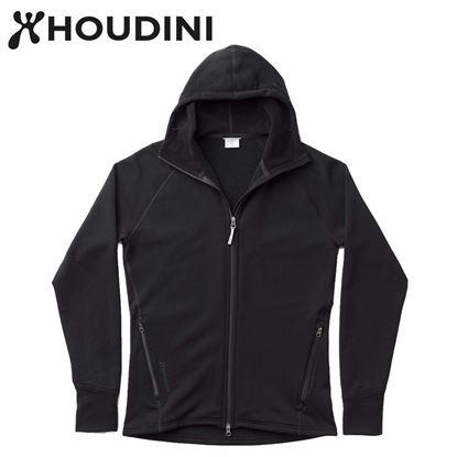 圖片 瑞典【Houdini】M`s Power Houdini 男款Power Stretch® Pro™保暖外套 純黑/純黑