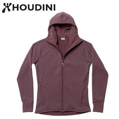 圖片 瑞典【Houdini】M`s Power Houdini 男款Power Stretch® Pro™保暖外套 紅色幻想