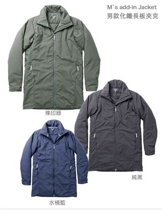 圖片 瑞典【Houdini】M`s Add-in Jacket 男款化纖保暖長板夾克