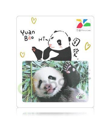 圖片 大貓熊圓寶悠遊卡-寫真版
