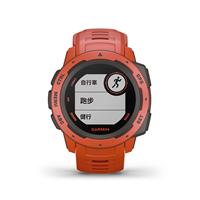 圖片 【GARMIN】Instinct 軍規GPS運動腕表 火焰紅