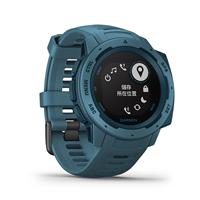 圖片 【GARMIN】Instinct 軍規GPS運動腕表 湖濱藍