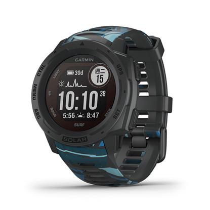 圖片 【GARMIN】 Instinct  Solar 本我系列 太陽能GPS腕錶 運動衝浪版 礁石灰