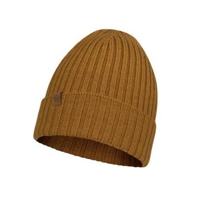 圖片 【BUFF】NORVAL 美麗諾針織保暖帽-芥末黃