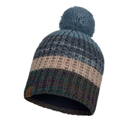圖片 【BUFF】ALINA-針織保暖毛球帽 優雅藍