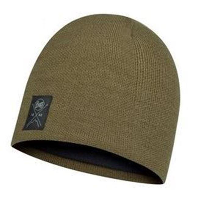 圖片 【BUFF】solid 針織保暖帽 叢林綠