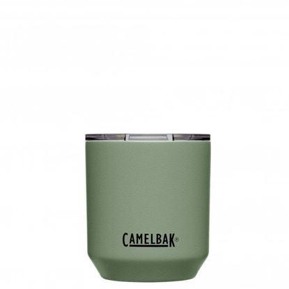 圖片 【CamelBak】300ml Rocks Tumbler 不鏽鋼威士忌保溫杯(保冰) 灰綠