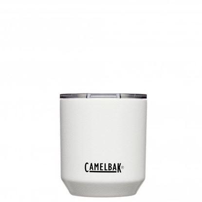 圖片 【CamelBak】300ml Rocks Tumbler 不鏽鋼威士忌保溫杯(保冰) 經典白
