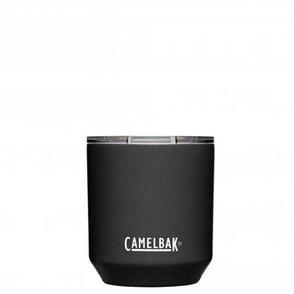 圖片 【CamelBak】300ml Rocks Tumbler 不鏽鋼威士忌保溫杯(保冰) 濃黑