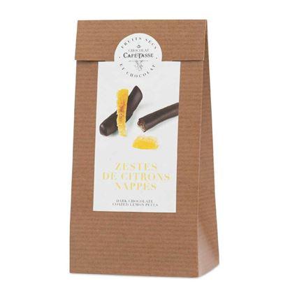 圖片 【CAFE TASSE】 比利時檸檬皮巧克力條100g