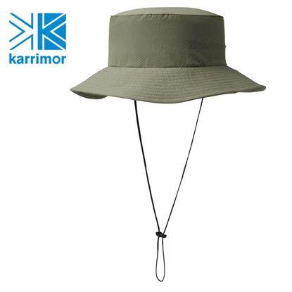 圖片 日系[ Karrimor ] Trek Hat 透氣彈性圓盤帽 卡其綠