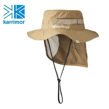 圖片 日系[ Karrimor ] sudare hat 透氣圓盤遮陽帽 米黃