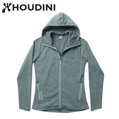 圖片 瑞典【Houdini】W`s Outright Houdini 女款 Power Stretch® Pro™ Light 保暖外套 淺暴風綠