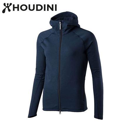 圖片 瑞典【Houdini】W`s Outright Houdini 女款 Power Stretch® Pro™ Light 保暖外套 陰鬱藍
