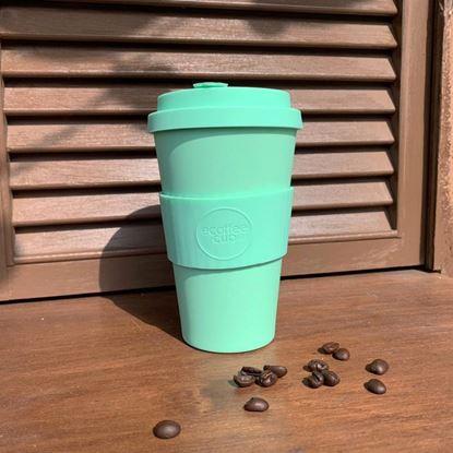 圖片 環保隨行杯14oz (粉嫩綠)