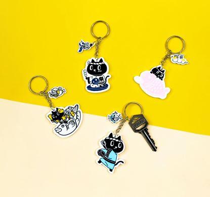 圖片 Kuroro 夏日祭典鑰匙圈