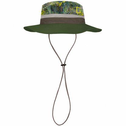 圖片 【BUFF】可收納圓盤帽-國家地理頻道-綠色秘林