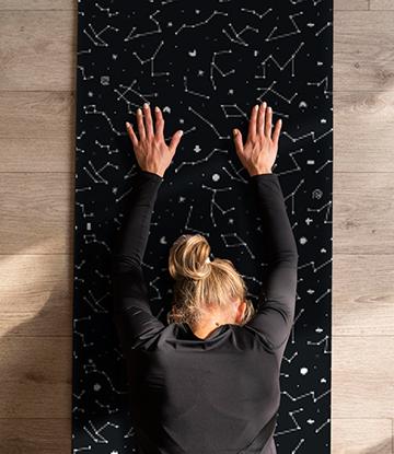 圖片 宇宙星象-瑜珈墊