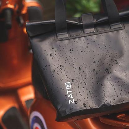 圖片 【ZAT】防水側背包10L(黑)