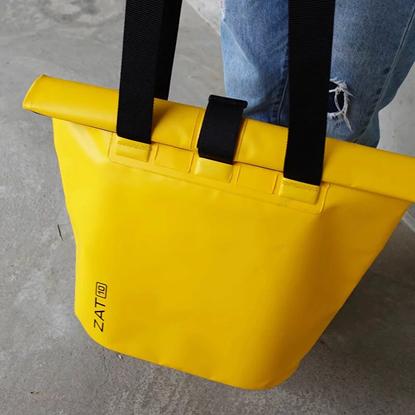 圖片 【ZAT】防水側背包10L(黃)