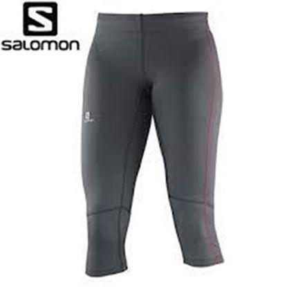 圖片 【Salomon】SA15 Agile 3/4 Tight女褲鵝卵石灰