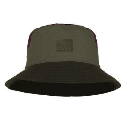 圖片 【BUFF】太陽漁夫帽-墨綠卡其