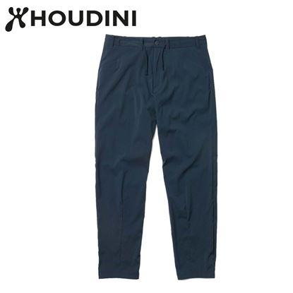 圖片 瑞典【Houdini】M's Wadi Pants 男 夏季快乾褲 藍色幻想