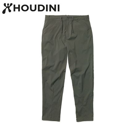 圖片 瑞典【Houdini】M's Wadi Pants 男 夏季快乾褲 裸印綠
