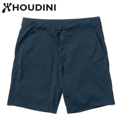 圖片 瑞典【Houdini】M's Wadi shorts 男 夏季快乾短褲 藍色幻想