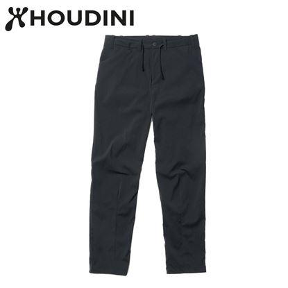 圖片 瑞典【Houdini】W's Wadi Pants 女夏季快乾長褲 純黑