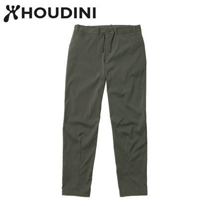 圖片 瑞典【Houdini】W's Wadi Pants 女夏季快乾長褲 裸印綠