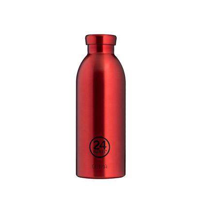 圖片 義大利 24Bottles 不鏽鋼雙層保溫瓶 500ml - 金紅