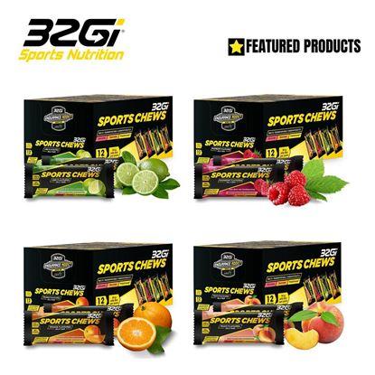 圖片 32Gi Sport Chews 能量軟糖 12包/盒