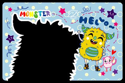 圖片 怪獸卡框HELLO_ChaLing_20210901