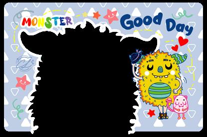 圖片 怪獸卡框-Good Day_ChaLing_20210901