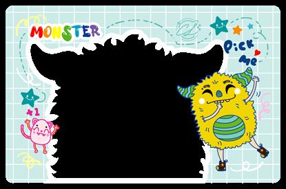 圖片 怪獸卡框Pick me_ChaLing_20210901