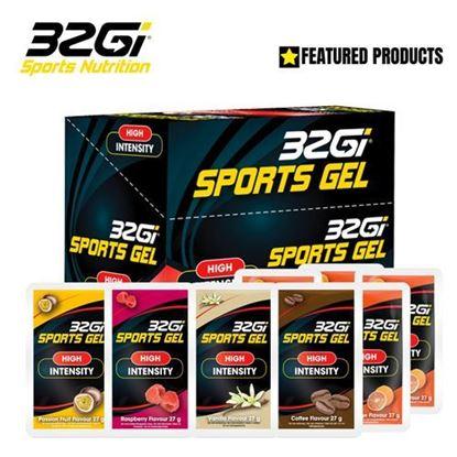 圖片 32GI 競賽系列補給 能量包果膠-(盒裝/20入 )