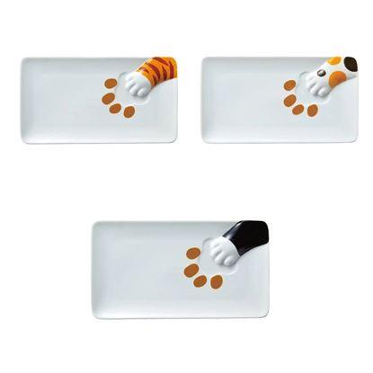 圖片 日本 sunart 長餐盤 - 貓偷食