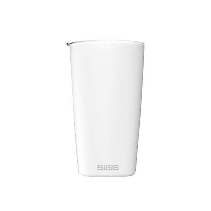 圖片 瑞士百年 SIGG Neso 陶瓷隔熱隨行杯 400ml - 純雪