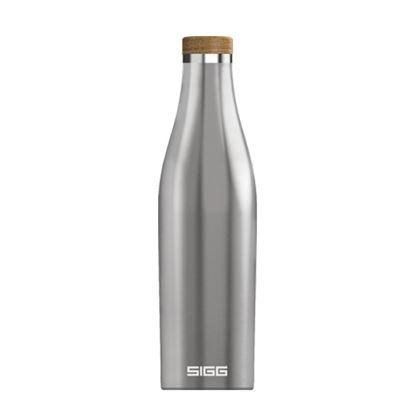 圖片 瑞士百年 SIGG 纖體竹蓋保溫瓶 500ml - 霧銀